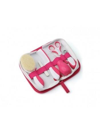 Набір по догляду за дитиною Nuvita Великий 0м+ Рожевий NV1136Pink