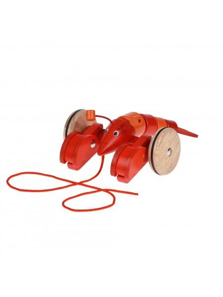Іграшка-каталка goki Лобстер 54904G