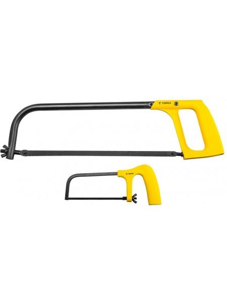 Ножівка TOPEX по металу, набір 150 мм і 300 мм (10A160)