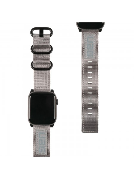 Ремінець UAG для Apple Watch 40/38 Nato Strap, Grey (19149C114030)