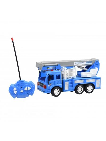 Машинка на р/к Same Toy CITY Кран синій F1630Ut